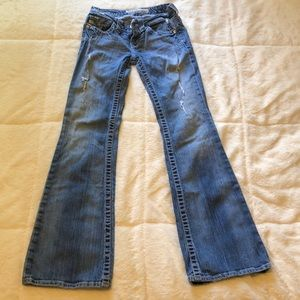 Big star low rise jeans size 24